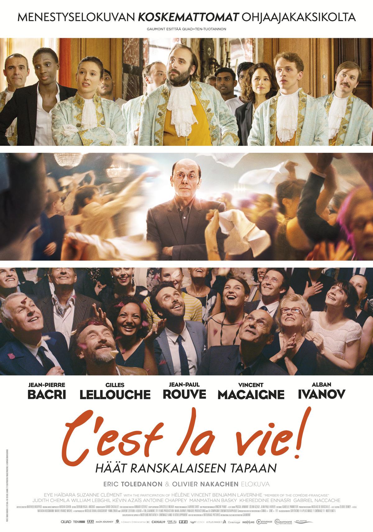 Kuvahaun tulos haulle Le Sens de la fête / C'est la vie! film poster